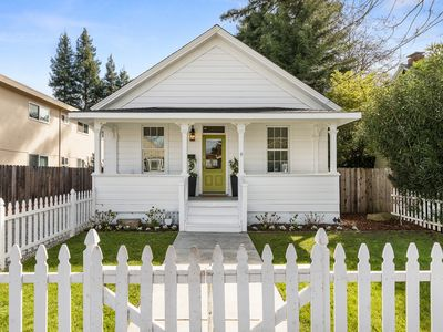 Photo for Charming 3BR Cottage Downtown w/ Fenced Backyard, Walk to Oxbow Public Market