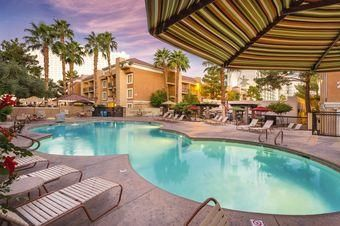 Photo for Spacious Suite Near the Strip w/ Free WiFi, Full Kitchen & Private Balcony