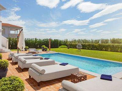 Photo for Stunning Villa Ivana with private pool, garden, BBQ, wi fi, family friendly, nearby sea