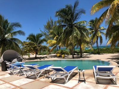 Photo for Casa De Cocos:  A Private Beachfront House with A/C and Wifi