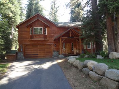 Photo for Rustic Tahoe Luxury - 5 mins to skiing, 5 mins walk to beach, Numerous Amenities
