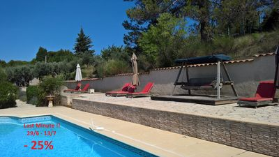 Photo for Old Provencal Bastide With Private Pool !!!! Last Minute  29/6 - 13/7 -25% !!!!!