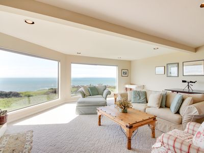 Photo for Oceanfront rental w/ modern decor, meadow views, shared pool, & private hot tub