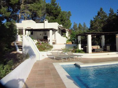 Photo for Gorgeous Holiday Home in St Josep de sa Talaia with Pool