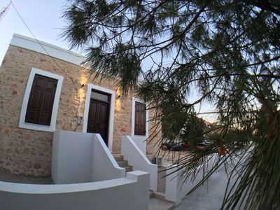 Photo for New Luxury Vintage Villa! Eternal Elegance in the Heart of Chalki's island!