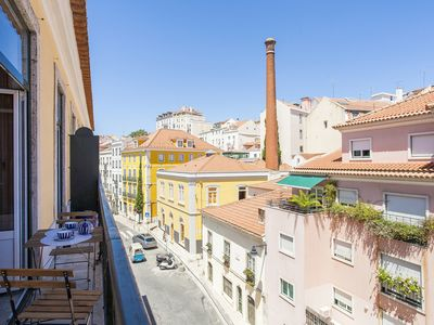 Photo for Boutique Loft Apartment -Duplex Modern & Antique Historical Center Lisbon