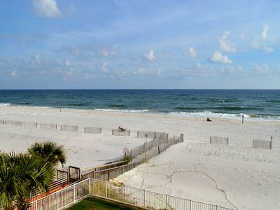 Photo for Spacious 3 BR 3 Bath 3rd Floor Unit Overlooking West Beach - Great Location!!!