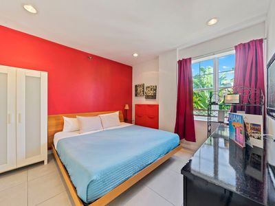 Photo for Spacious updated POOL condo - 5 min to BEACH