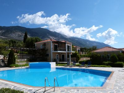 Photo for Oneira Villas 2 - One Bedroom Bungalow with shared pool and sea views
