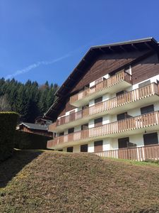 Photo for Newly Refurbished luxury studio Morzine,1st floor, sleeps 4/5, centrally located
