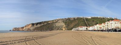 Photo for 1 Beach house Nazaré, Apartment with 2 bedrooms, living room,