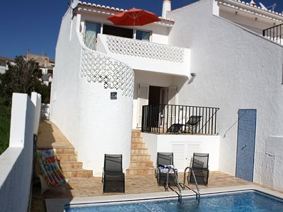 Photo for Delightful Villa with child friendly pool. 5 Minutes Walk To Luz Blue Flag Beach