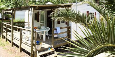 Photo for Camping Les Salisses **** - Air-conditioned Mobile Home 3 Rooms 6 Persons