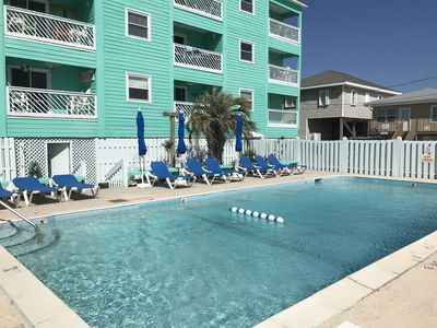 Photo for ☀ Breezy, Open Condo, Steps from Beach and Boardwalk with Ocean Views & Pool ☀