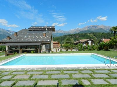 Photo for private pool, garden of 2000m2, not far from beaches and the city center