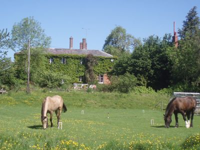 Photo for Lower Buckton country house in the country near Ludlow. Five bedrooms.Sleeps ten