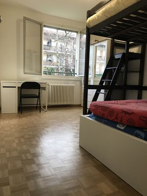 Photo for bed room 13m2, 4 beds: Geneva GVA Bernex (tramway 14)