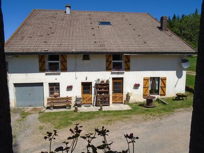 Photo for Renovated farmhouse overlooking the lake and the valley