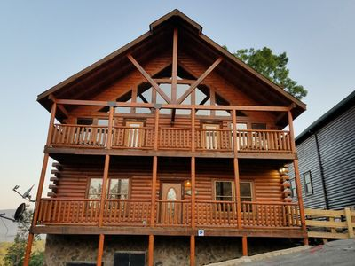 Photo for Limited weekdays in August - Low Rate -  7 bed/8.5 bath, theater, gameroom,