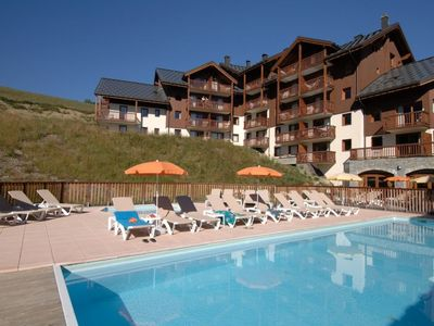 Photo for 1BR Bungalow Vacation Rental in Le Corbier