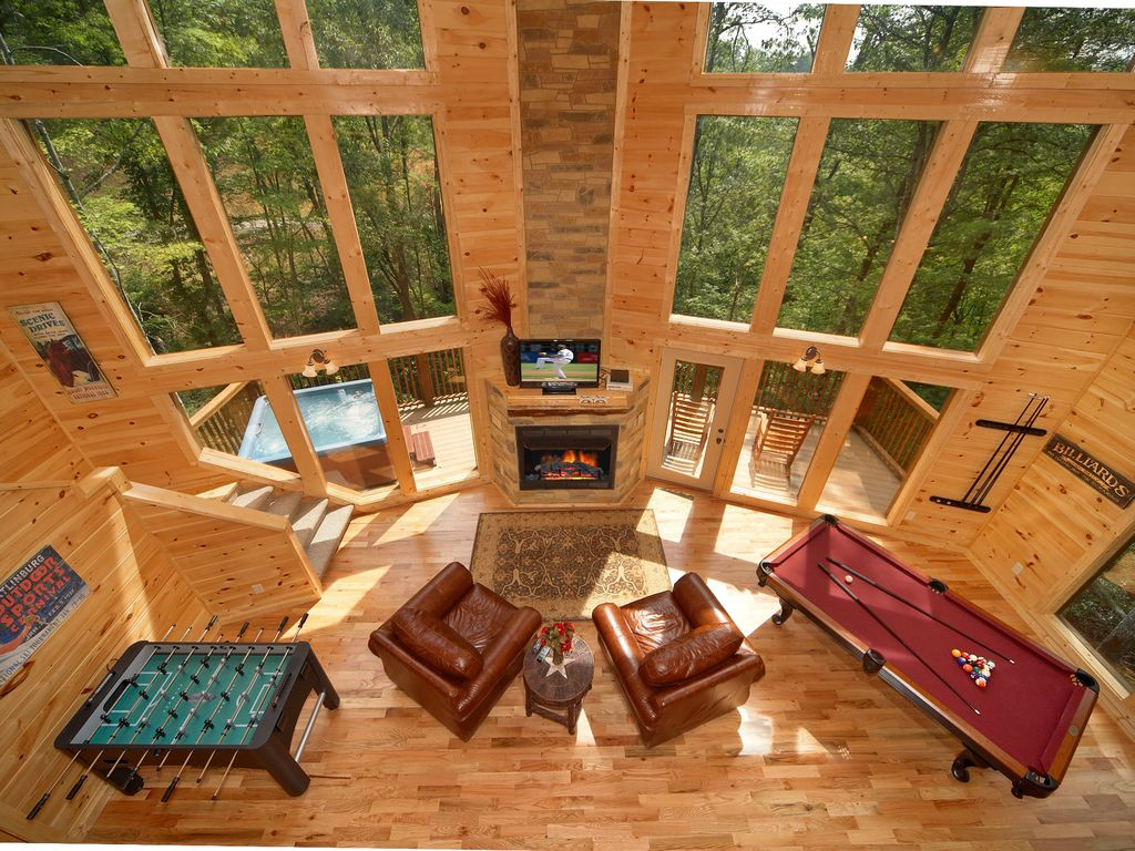 Baita per 8 persone nel gatlinburg 503006 for Cabina di brezza autunnale gatlinburg