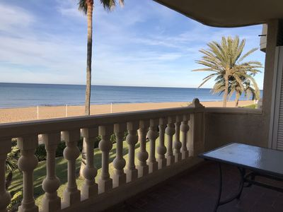 Photo for NEWLY RENOVATED APARTMENT IN DENIA FRONT OF THE SEA