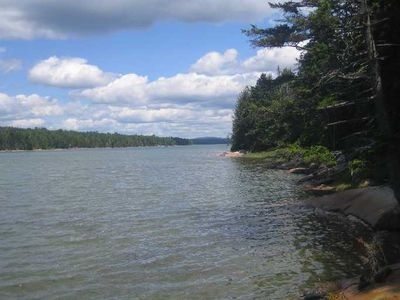 Photo for Charming waterfront Cape on 5 acres - Protected habitat - Bikes and Kayaks Incl