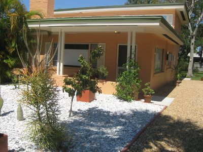 Tangerine  Dream, a peaceful getaway just 1.5 miles from beach & village