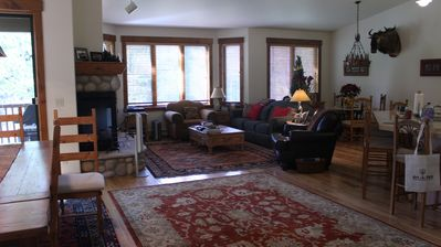 Photo for Almost 2,400 square feet of luxury space; close to the slopes!