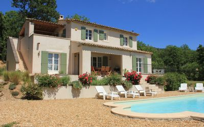 Photo for Villa Sleeping 6, Private pool, Wifi,  stunning Views of the Luberon.