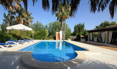 Photo for Superb villa with romantic pool and chill out area, 2 km to the beach