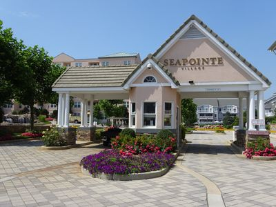 Photo for Seapointe Village Diamond Beach NJ - First floor, lobby level location.