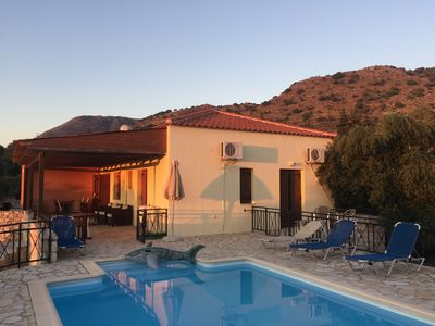 Photo for Near Almyrida ☀️ No Stairs! ☀️ Gated Private Pool For Child Safety ☀️ Free WiFi