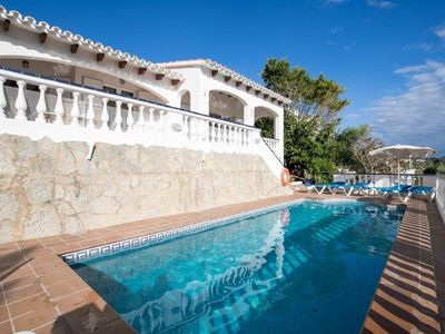 Photo for 3 bedroom Apartment, sleeps 6 in Son Bou with Pool, Air Con and WiFi