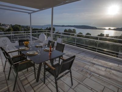 Photo for Sea View Maisonette in Vouliagmeni