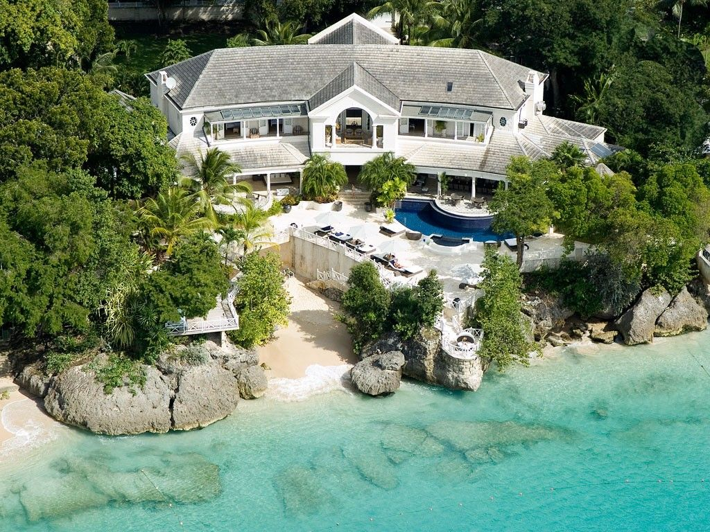 10 bedroom waterfront luxury villa in barbados golf course nearby
