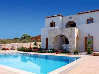 Photo for Luxury villa, panoramic sea views, private pool, wifi, outdoor kitchen/living