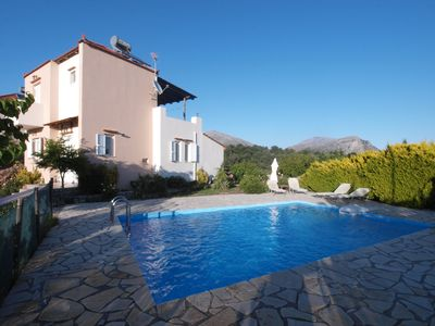 Photo for VILLA NEFELI, WITH MOUNTAIN VIEW, PRIVATE POOL AND GARDEN