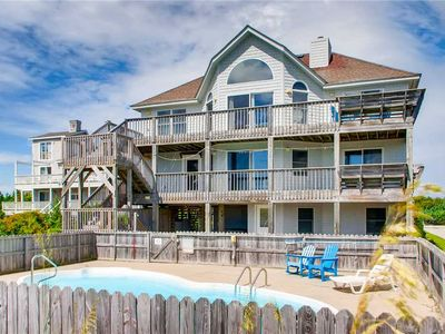 Photo for Family-Friendly Oceanfront Getaway w/ Private Pool, Hot Tub, Game Room, WiFi