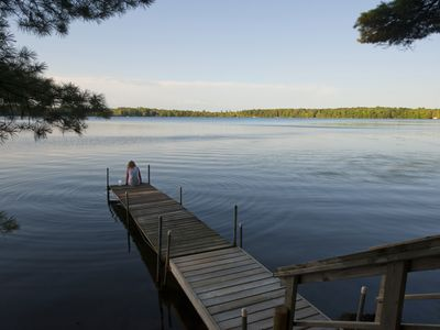 Photo for Crystal Cottage right on Durphee Lake