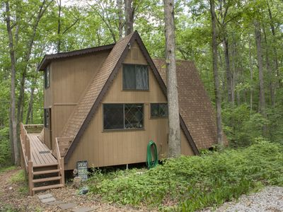 Photo for Enjoy •Quality• Time at this Cozy & Rustic Innsbrook Chalet, Short Walk to Beach