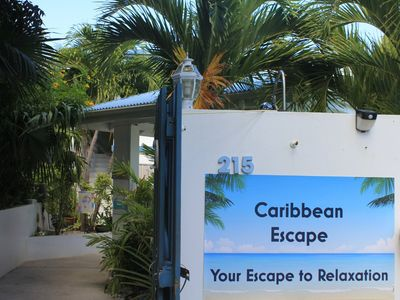 Photo for Caribbean Escape sleeps 4 w/ Pool on East End Overlooking  Beautiful Teague Bay