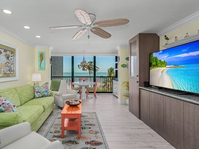 Photo for Directly on the Beach with Beach Front Views.  SeaScape Condo. Totally Updated.