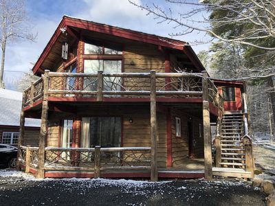 Photo for Unique Rustic Ski/Tree House in Adirondacks and Whiteface - visit adkth@com