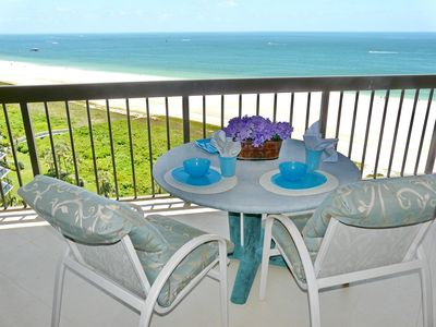 Photo for Beachfront condo with heated pool, hot tub and countless luxurious amenities