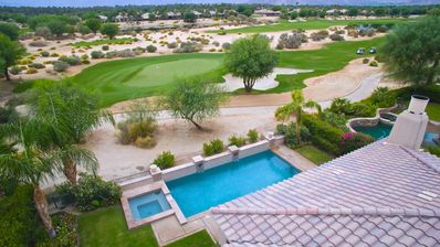 Photo for Panoramic Desert Views from Luxury Greg Norman Home @ PGA West