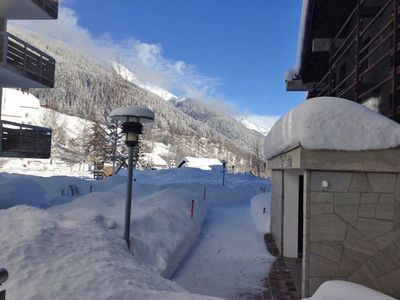 Photo for Apartment 279 m from the center of Disentis with Lift, Parking, Internet, Washing machine (650098)