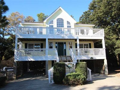 Photo for #CL9: Reduced Rates! OCEANSIDE Home in Corolla w/PRVTPool & HotTub, DogFriendly