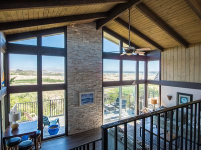 Photo for 3BR/2BA with Ocean & Dune Views, 1/2 block to the Beach & near Drive on Access.