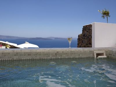 Photo for Villa Rina 3 bedrooms 3 bathrooms up to 7 guests oia santorini the perfect base from which to explore enchanting Oia !